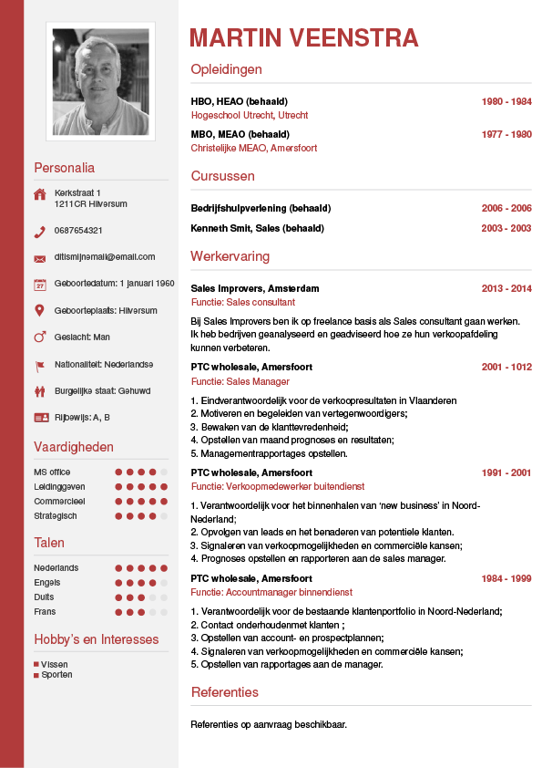 tips cv maken CV maken? • In 3 stappen je Curriculum Vitae downloaden   CV wizard