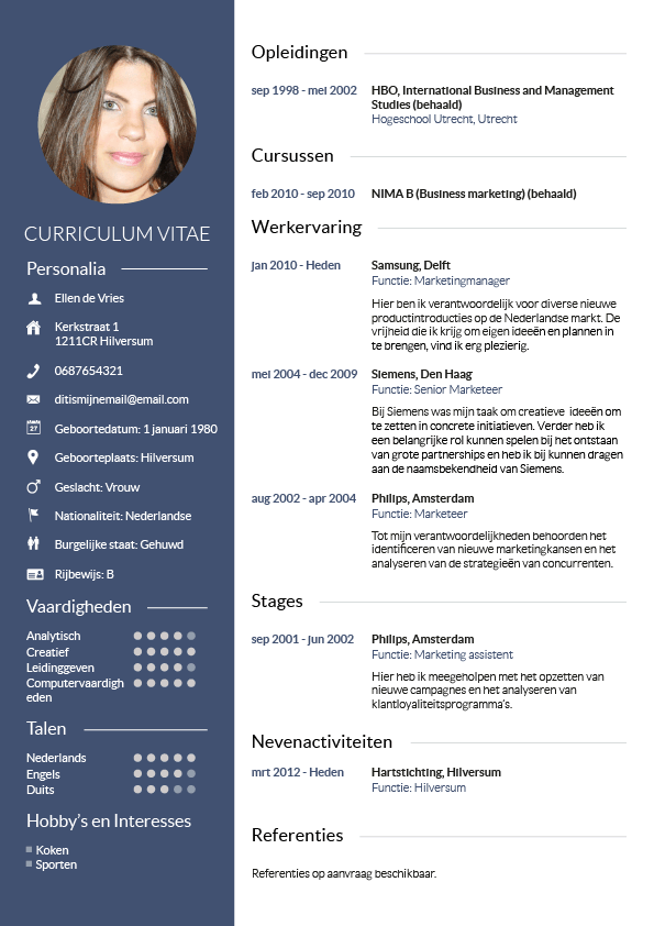 cv maken en gratis downloaden CV maken? • In 3 stappen je Curriculum Vitae downloaden   CV wizard